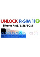 R-SIM 11+ GEVEY DESBLOQUEIO APPLE IPHONE 5, 5S, 5C, 6, 6S, 6 PLUS, 6S PLUS, 7, 7 PLUS