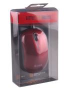 RATO PORTATIL LITTLE USB MOUSE 2HIX M07 USB 2.0 VERMELHO BLISTER