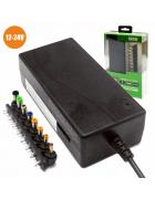 CARREGADOR PORTÁTIL UNIVERSAL M2 TEC V-4319 12-24V 100W + ENTRADA USB (8 PONTEIRAS) BLISTER