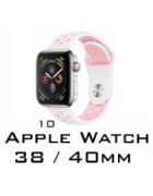 BRACELETE SILICONE APPLE WATCH 38MM/40MM (MODELO 10)