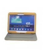 CAPA COM SUPORTE SAMSUNG GALAXY TAB 3 10.1 P5200 VERMELHA