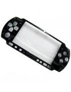TAMPA FRONTAL SONY PSP 3000 PRETA ORIGINAL
