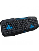TECLADO GAMING HALFMMAN VIRTUAL SOUL CYBER DRAGON – PRETO