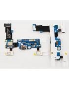 FLEX CONECTOR CARGA MICRO USB E MICROFONE SAMSUNG GALAXY S5 MINI G800F ORIGINAL