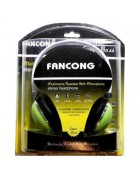 HEADPHONE AAM035 VERDE C/MICROFONE