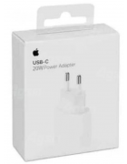 ADAPTADOR CORRENTE USB-C 20W APPLE MHJ83ZM/A BRANCO ORIGINAL BLISTER