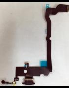 FLEX CONETOR CARGA E MICROFONE INFERIOR PRETA IPHONE XS ORIGINAL