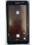 CAPA CHASSI FRONTAL MEO SMART A80 ZTE BLADE L3 PRETA ORIGINAL SWAP