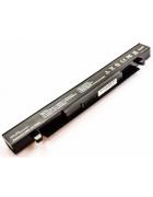BATERIA COMPATIVEL ASUS X450, X550 2200MAH 14.8V PRETA
