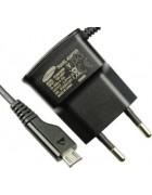 CARREGADOR SAMSUNG ETAOU10EBE PRETO ORIGINAL (MICRO USB)
