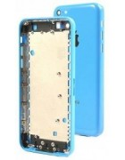 CAPA TRASEIRA IPHONE 5C AZUL ORIGINAL
