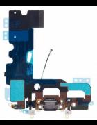 FLEX COM CONECTOR CARGA E MICROFONE APPLE IPHONE 7 PLUS PRETO ORIGINAL