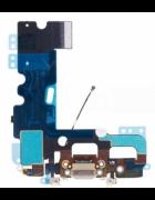 FLEX COM CONECTOR CARGA E MICROFONE APPLE IPHONE 7 PLUS CINZENTO ORIGINAL