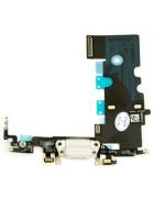 FLEX COM CONECTOR CARGA LIGHTNING E MICROFONE APPLE IPHONE 8 BRANCO ORIGINAL