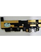 FLEX CONETOR CARGA E MICROFONE VODAFONE SMART PRIME 6, 895N ORIGINAL SWAP