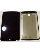 """TOUCHSCREEN E DISPLAY TABLET LG G PAD F, LK430 de 7"""" PRETO ORIGINAL"""