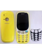 CAPA NOKIA 3310 (FRONTAL + TRASEIRA + TECLADO) AMARELA ORIGINAL