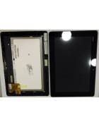 TOUCHSCREEN C/ ARO E DISPLAY TABLET ASUS TF300T VERSAO 5158N PRETO ORIGINAL