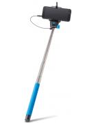 MONOPOD SELFIE STICK FOREVER MP-400 C/ CABO AUDIO AZUL BLISTER