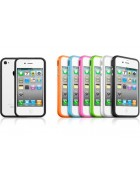 BUMPER SILICONE IPHONE 4G,4S BRANCO