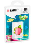 PEN DRIVE EMTEC TURTLE LADY 16GB BLISTER (USB 2.0)
