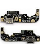 FLEX CONETOR CARGA E MICROFONE ASUS ZENFONE 3 ZE520KL ORIGINAL
