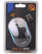RATO WIRELESS 2HIX MW5 PRETO/AZUL BLISTER