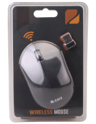 RATO WIRELESS 2HIX MW5 PRETO BLISTER