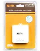 LEITOR DE CARTÃO CIDADÃO 2HIX SMART CARD USB 2.0 BRANCO BLISTER
