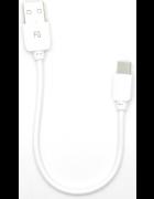 CABO DADOS MICRO USB TYPE C BRANCO BLISTER (20CM) (CAB141)