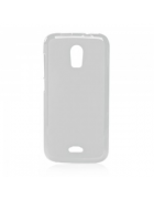 BOLSA SILICONE JELLY IPHONE 4G,4S BRANCA/TRANSPARENTE