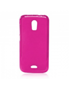 BOLSA SILICONE JELLY iPHONE 4G,4S ROSA