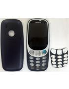 CAPA NOKIA 3310 (FRONTAL + TRASEIRA + TECLADO) PRETA ORIGINAL