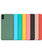 CAPA SILICONE COVER IPHONE 7 PLUS, IPHONE 8 PLUS PRETA BLISTER