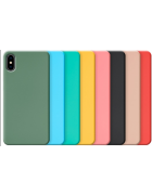 CAPA SILICONE COVER HUAWEI P SMART (2019), HONOR 10 LITE SALMÃO BLISTER