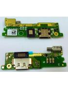 PLACA INTERIOR COM CONECTOR DE CARGA SONY XPERIA XA1 G3112, G3121 ORIGINAL