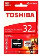 CARTÃO TOSHIBA MICRO SD 32GB CLASS 10 C/ ADAPTADOR SD BLISTER