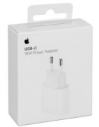 ADAPTADOR CORRENTE USB-C 18W APPLE MU7V2ZM/A BRANCO ORIGINAL BLISTER
