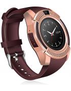Relógio Inteligente Smartwatch V8 Sport Android/iOS dourado