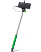 MONOPOD SELFIE STICK FOREVER MP-400 C/ CABO AUDIO VERDE BLISTER