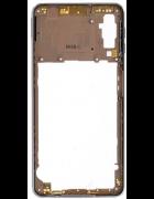 CAPA INTERMÉDIA / CHASSI SAMSUNG GALAXY A7 (2018), A750F DOURADA ORIGINAL