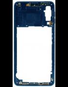 CAPA INTERMÉDIA / CHASSI SAMSUNG GALAXY A7 (2018), A750F AZUL ORIGINAL