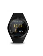 Smartwatch Y1 Android e iOS preto