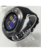 Smartwatch Y1 Android e iOS cinza